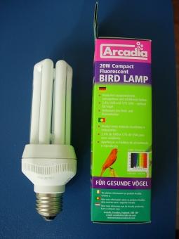 Arcadia Vogellampe Kompakt 20W