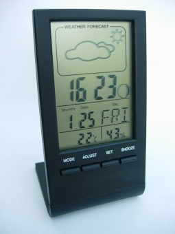 LCD-Hygro- und Thermometer, digital