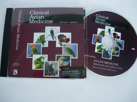 """DVD """"Clinical Avian Medicine""""  englischsprachig"""
