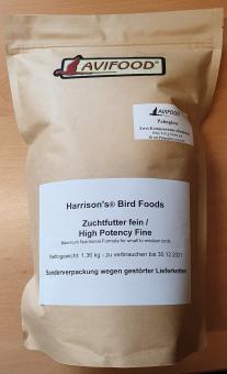 Zuchtfutter fein (High Potency Fine), 1,36 kg - Sonderverpackung wegen gestörter Lieferketten