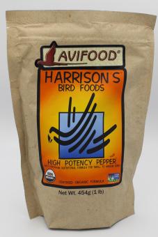 Zuchtfutter fein Pepper (High Potency Pepper), 0,45 kg